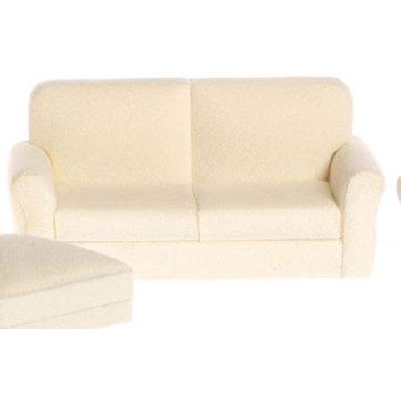 Dollhouse Classic White Living Room Sofa