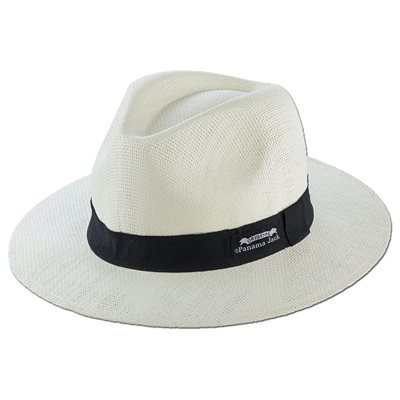 Original Panama Jack Matte Toyo Straw Sun Safari Hat Ivory Sun Hat
