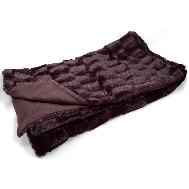 Roberto Amee  Faux Fur Throw