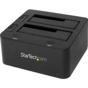 USB 3.0 DUAL HDD/SSD DOCK WITH
