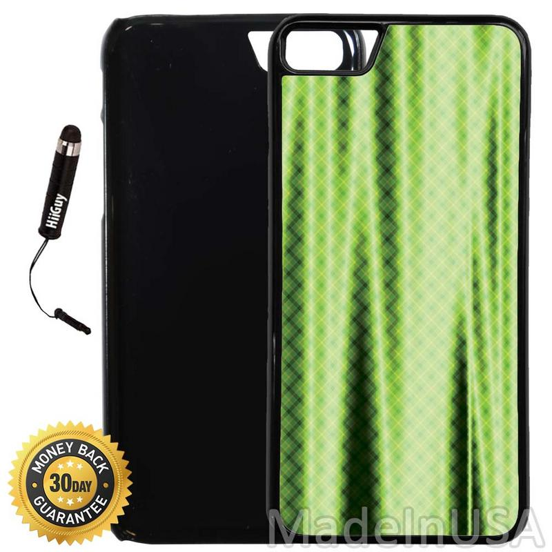 Custom iPhone 8 Case (A1262) Edge-to-Edge Plastic Black Cover with Shock and Scratch Protection | Lightweight, Ultra-Slim | Includes Stylus Pen by INNOSUB