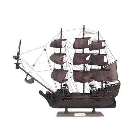 "Flying Dutchman 20"" - Wood Pirate Ship Model - Pirates Of The Caribbean Model Boat - Flying Dutchman Toy Ship - Pirate Boat Model - Already Built -"