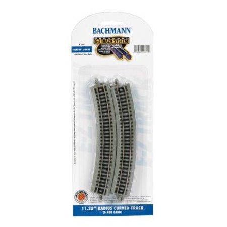 Bachmann Trains N Scale 11.25 inch Radius Curved Track Train Accessory - 6