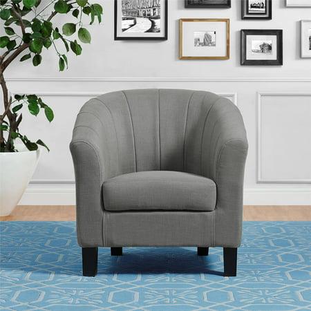 Dorel Living Evelyn Chair Gray Walmart Com