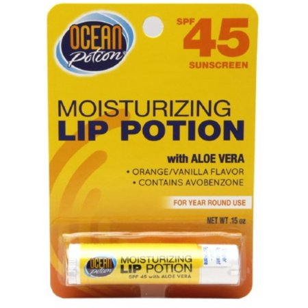 Ocean Potion Moisturizing Lip Potion SPF 45 0.15 oz (Pack of 6) - Ocean Potion Moisturizing Lip Potion Spf 45