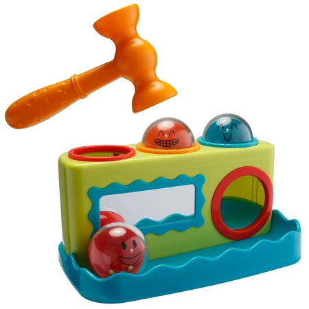 Playkidz Super Durable Roll Toy Hammer Balls Plan Toy Punch for - Hammer Toy