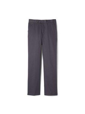 French Toast Boys School Uniform Adjustable Waist Relaxed Fit Pants, Sizes 4-20, Slim, & Husky