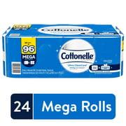 Cottonelle Ultra CleanCare Strong, 24 Mega Rolls, Bath Tissue