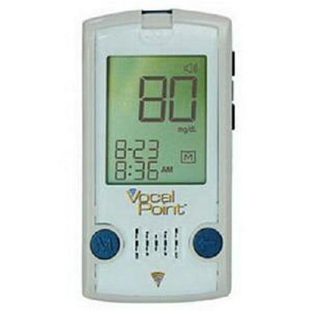 Vocal Point Talking Blood Glucose Meter 23-1/2
