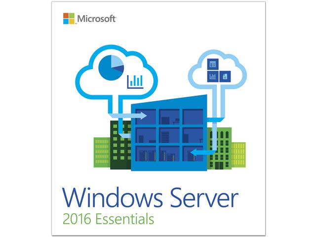 Microsoft Windows Server 2016 Essentials 64-bit 1 Processor by Microsoft