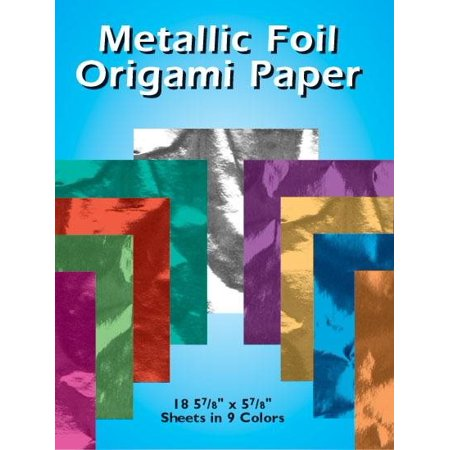 Foil Origami Paper (Metallic Foil Origami Paper )