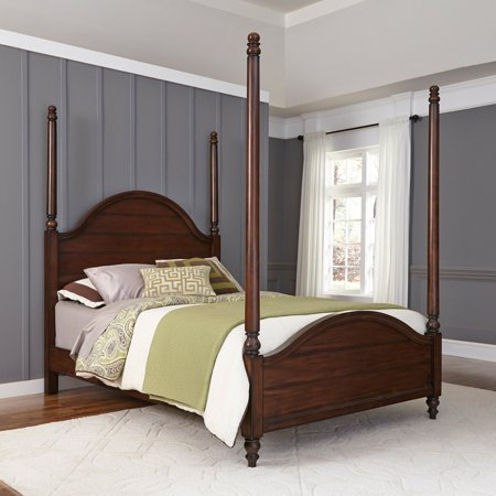 Home Style Country Comfort Twin Poster Bed