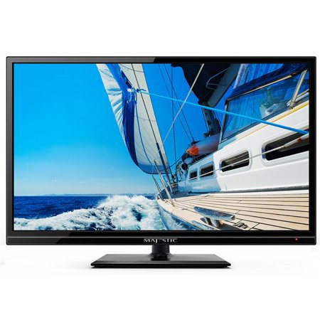 Majestic Global M7F-LED193GS 19 in. 12V LED Full High Definition TV with Built-in Global Tuners, DVD & MMMI - Baby Tv Online