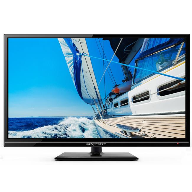 Majestic Global M7F-LED193GS 19 in. 12V LED Full High Definition TV with Built-in Global Tuners, DVD & MMMI