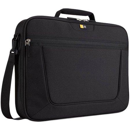 Case Logic 17 3  Clamshell Laptop Briefcase  Black