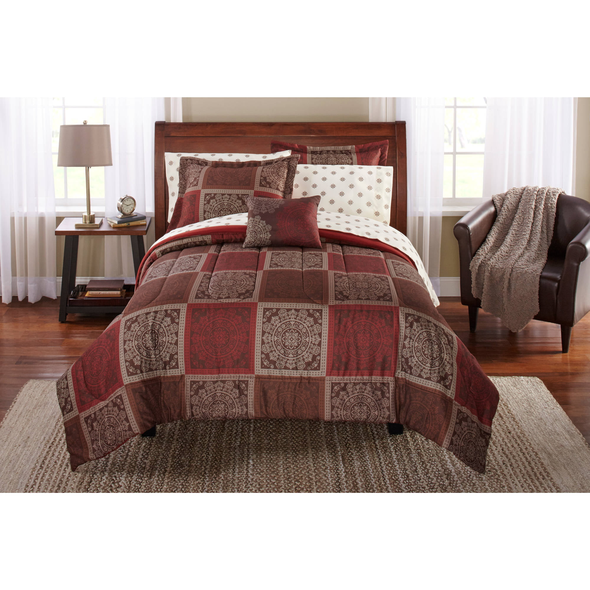 Brown and red bedding - Brown And Red Bedding 32
