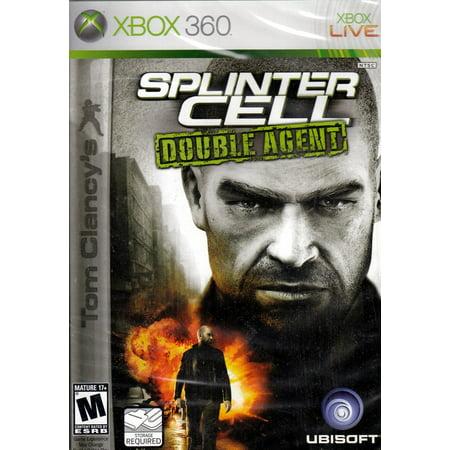 Tom Clancy's Splinter Cell Double Agent - Xbox 360 (Splinter Cell Conviction Xbox)