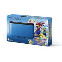 Refurbished Nintendo 3DS XL Blue/black Limited Edition With Mario Party: Island Tour Game