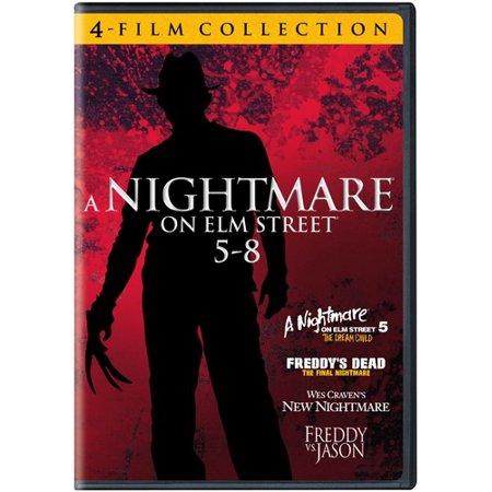 4 Film Favorites: A Nightmare on Elm Street 5-8 (DVD)