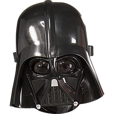 Morris Costumes Star Wars Darth Vader Child Halloween Pvc Mask One Size, Style RU3441 (Vader Mask)