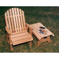 Creekvine Designs Fanback Cedar Patio Chair by Creekvine Designs Inc