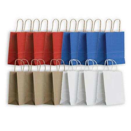 Jillson   Roberts Eco Friendly Kraft Small Gift Bag Assortment  12 Bags
