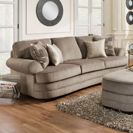 Simmons kingsley pewter sofa walmartcom for Simmons sectional sofa covers