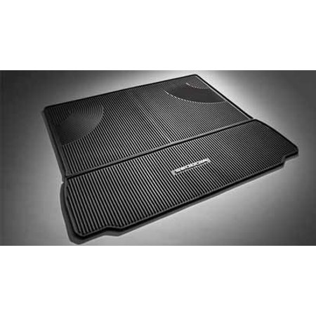Genuine OE Toyota Sequoia 2PC Cargo Black All Weather Mats