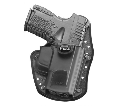 Fobus Inside the Waistband Holster, Black, Right Hand, by