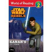 World of Reading Star Wars Rebels Kanan's Jedi Training : Level 2