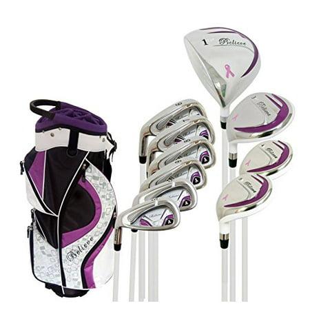 Founders Club Believe Ladies Complete Golf Club Set Purple Left Handed (Standard)