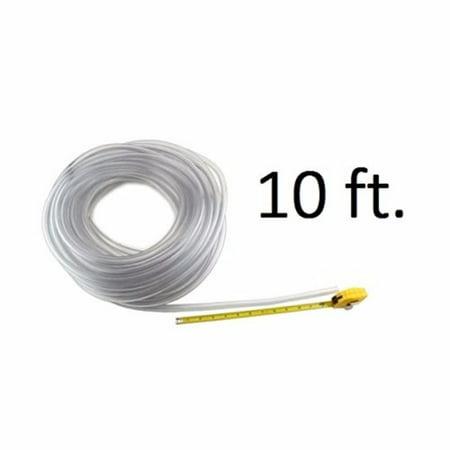 """1 X Beer Line 3/16"""" I.D. Vinyl Hose - 10 ft Length"""