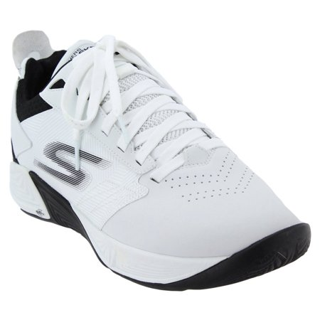 Men Shoes Basketball Sneaker (Skechers Mens Go Basketball Torch 2 Basketball Athletic  Shoes - White)