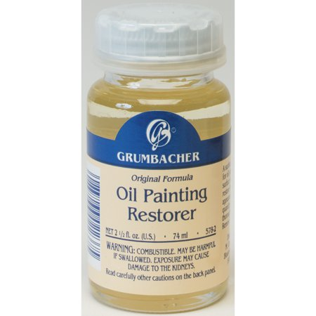 Grumbacher Oil Painting Restorer, 2 oz.