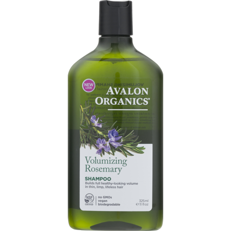 Avalon Organics Volumizing Shampoo, Rosemary, 11