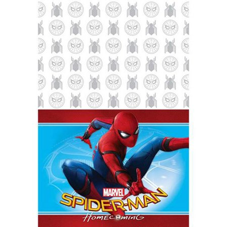 Spider-Man '' Plastic Table Cover (1ct), By Homecoming Ship from US