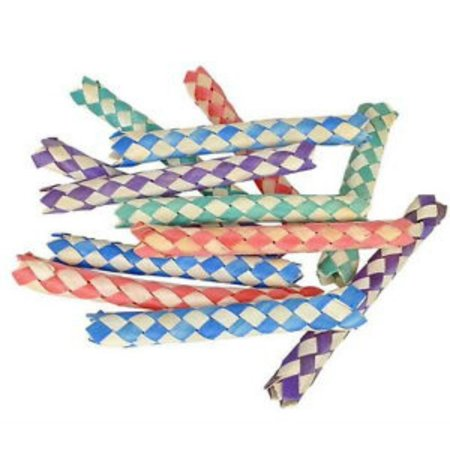 144 BAMBOO CHINESE FINGER TRAPS, BIRTHDAY PARTY FAVORS, HOT TOY,GREAT ITEM, EVERYONE LOVES THEM. By Unbranded