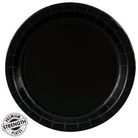 Dinner Plate - Black (24 Count)