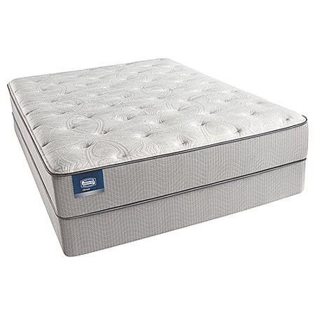 chickering queen size luxury firm mattress and low profile box spring set beautysleep. Black Bedroom Furniture Sets. Home Design Ideas