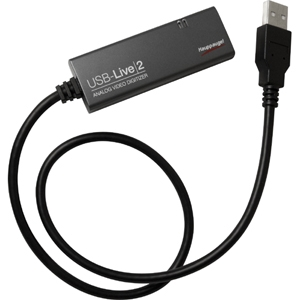 USB LIVE2 WATCH CAPTURE RECORD VIDEO FROM VCR CAMCORDER VIDEO CAM