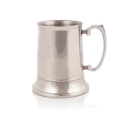 Admiral™ Stainless Steel Beer Stein by (Pottery Beer Stein)