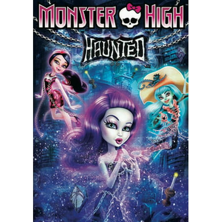 Monster High: Haunted (DVD) - History Channel Haunted History Halloween Dvd