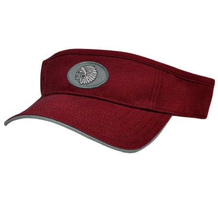 Washington High School Warriors WHS Sports Mascot Cotton Tennis Visor Hat