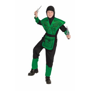 Mortal Kombat Female Costumes (CHCO-GREEN NINJA-MEDIUM)