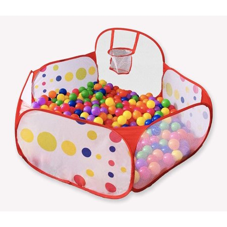 Foxplay Foldable Basketball Ball Pit for - Pit Bull Stand
