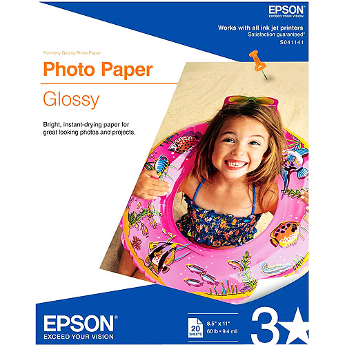 Epson S041141 Glossy Photo Paper