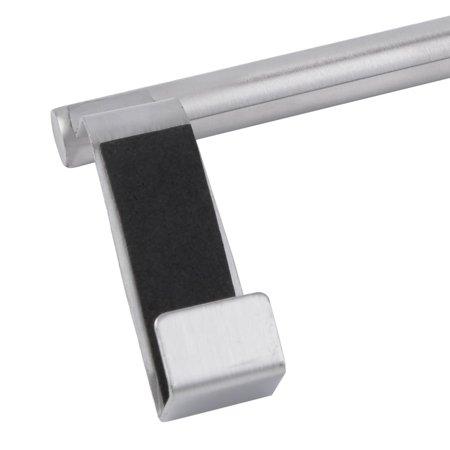 23cm Stainless Steel Towel Bar Holder Hook Storage Rack Door Hanging Kitchen - image 6 de 11
