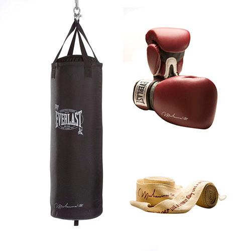 Everlast 70 lb Ali Training Kit, Black