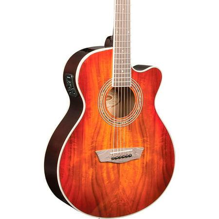 - Washburn EA55G-A Festival Acoustic-Electric Guitar Koa Burst