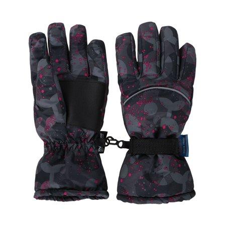Unisex Kids Waterproof Windproof Girls Boys Youth Winter Ski Snow Ski Gloves M